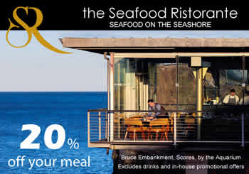 seafood ristorante st andrews ghost tours 2 - Enjoy 20% off your meal