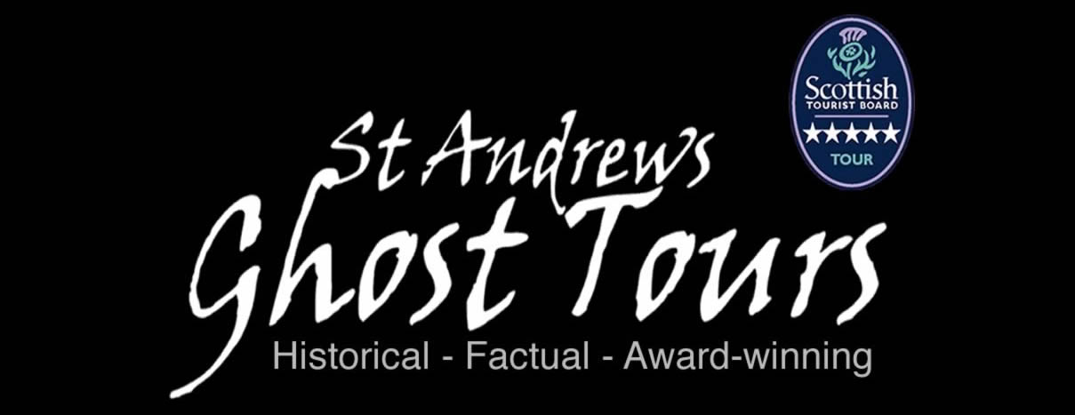St Andrews Ghost tours logo 1 - We also run - St Andrews Ghost Tours - St Andrews History Tours