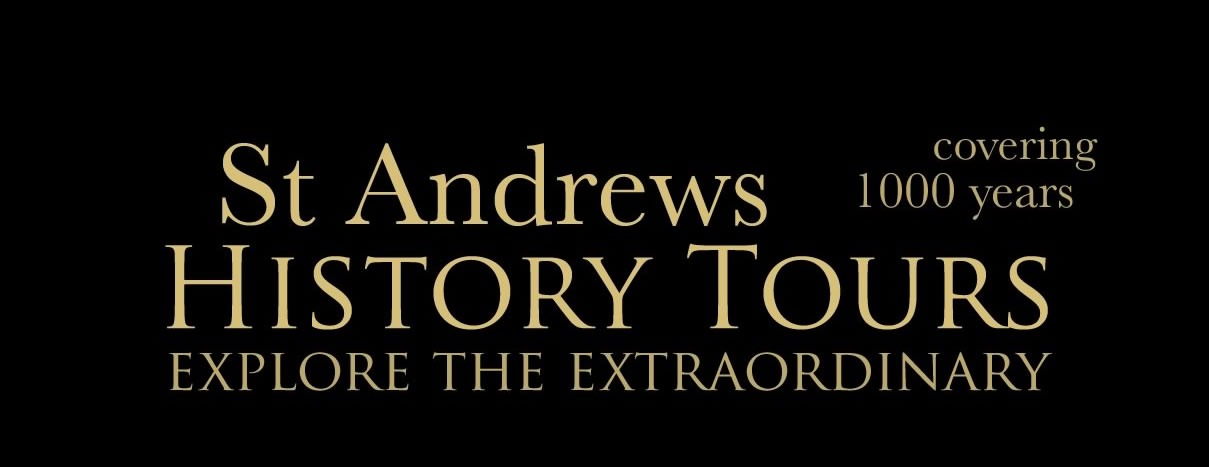 St Andrews history tours logo 2 - We also run - St Andrews Ghost Tours - St Andrews History Tours